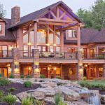 Log Homes Luxury Energy Efficient Home