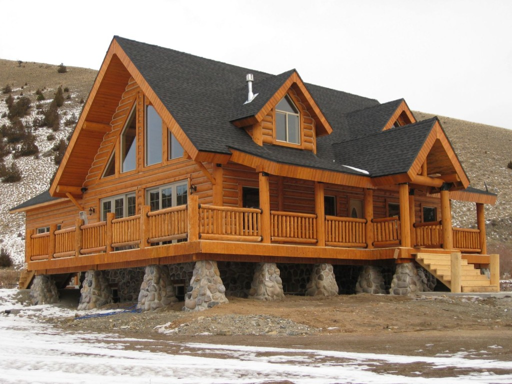 Log Homes Panelized Home Kits Makes The Building Process Easy
