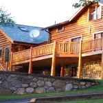 Log Homes The Natural Green Building Solution Greenlivingdetails