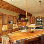 Log House Traditional Kitchen Vancouver Sitka Homes