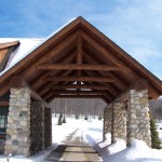 Log Hybrid Timberwolf Handcrafted Homes