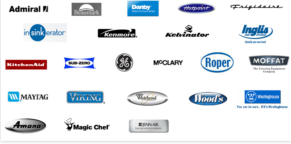 Logos Appliancee Manufacturer Brands That Appliance America Can