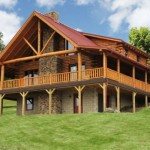 Looking Build Custom Luxurious Log Home Let Fairview Homes
