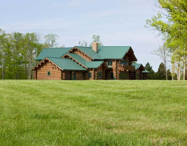 Lookout Manor Custom Handcrafted Log Homes Maple Island