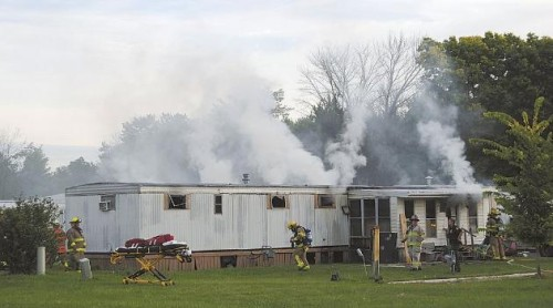 Losing Young Ren Boyfriend Fast Moving Mobile Home Fire
