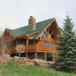 Love Log Cabin Homes For The Home