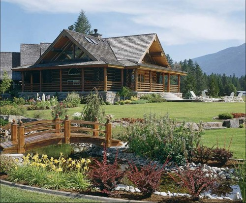Luxury For Log Homes Ways Add Your Home