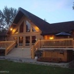 Luxury Log Cabin Home Favorite Places Spaces