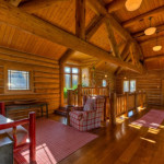 Luxury Log Homes And Luxurious Living Guest Rooms