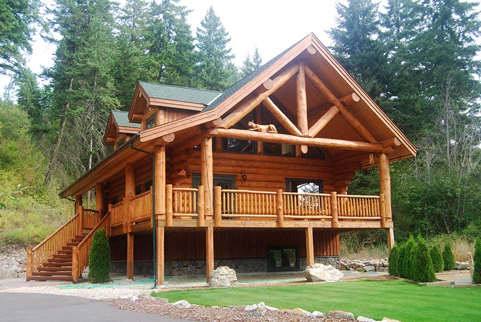 Luxury Log Homes Handcrafted Experienced Home Builders Timber