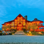 Magnificent Hand Crafted Custom Log Home The Jetset Marketplace