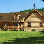 Magnolia Log Home Cabin Plans Southland Homes