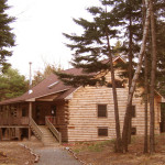 Maine Vacation Home Real Estate For Sale Beautiful Authentic Log