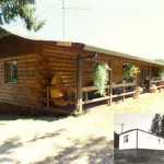Make Your Manufactured Home Look Like Log Cabin