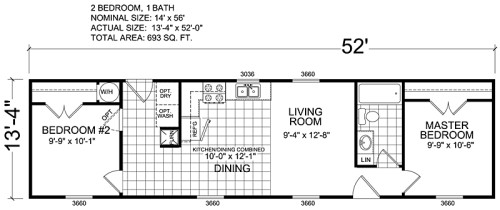 Manufactured Home And Mobile Floor Plans