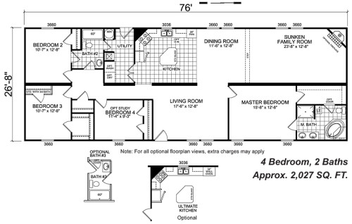 Manufactured Home And Mobile Floor Plans Camilla