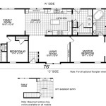 Manufactured Home And Mobile Floor Plans Fargo