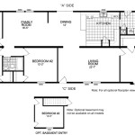 Manufactured Home And Mobile Floor Plans Garrison