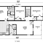 Manufactured Home And Mobile Floor Plans Lawrence
