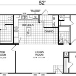 Manufactured Home And Mobile Floor Plans Redwood