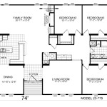 Manufactured Home And Mobile Floor Plans Welburg