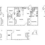 Manufactured Home Floor Plan Clayton Gaston Manor