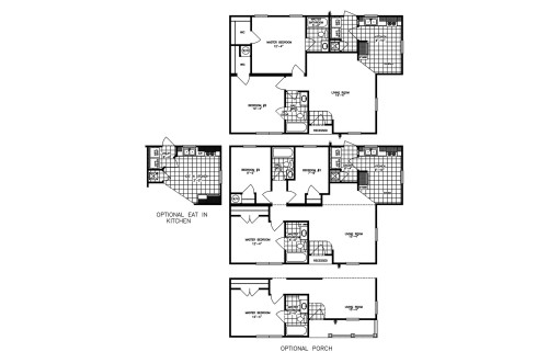 Manufactured Home Floor Plan Clayton Jamestown Jat