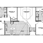 Manufactured Home Floor Plan Clayton Karsten Kst