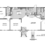 Manufactured Home Floor Plan Clayton Pinecrest Pnx