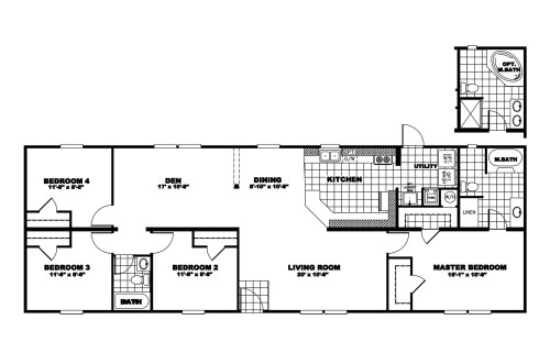 Manufactured Home Floor Plan Clayton Signature