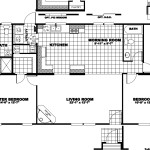 Manufactured Home Floor Plan Clayton Special Mountaineer