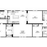 Manufactured Home Floor Plan Clayton The Linville Loaded