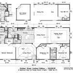 Manufactured Home Floor Plan Golden West Gle