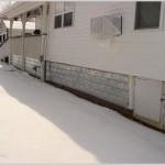 Metal Mobile Home Skirting Applications Carrollton