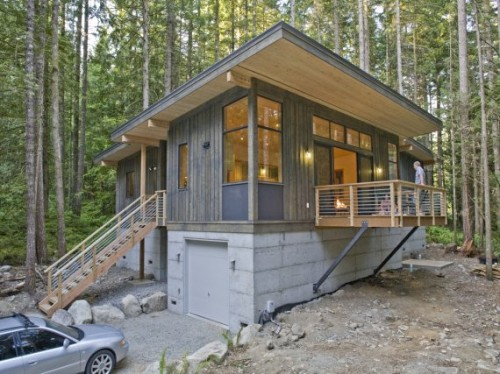 Method Homes Completes Its First Prefab Cabin Contemporist