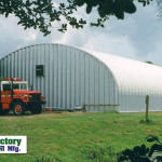 Mfg Prefabricated Storage Building Metal Pole Barn Alt