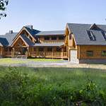 Milled Log Homes West Virginia Home