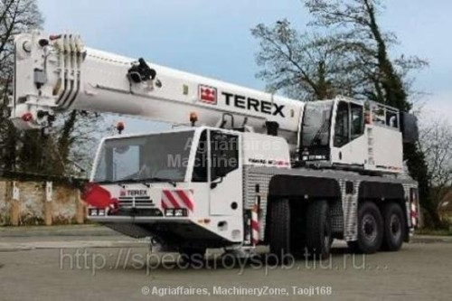 Mobile Cranes All Terrain Terex Demag