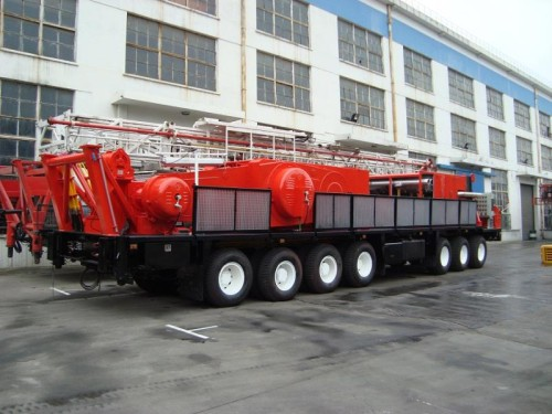 Mobile Drill Rig Carrier
