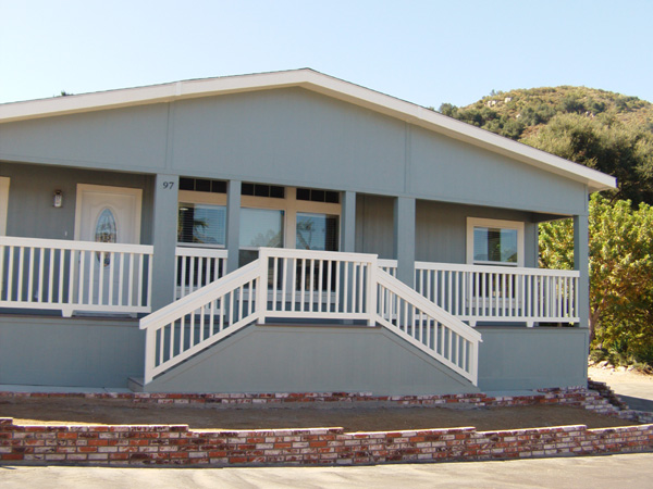 Mobile Home Building San Diego County Stairs