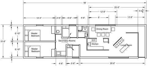 Mobile Home Floor Plan Cloudy Deviantart