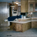 Mobile Home Kitchen Transition And More Options For Panel