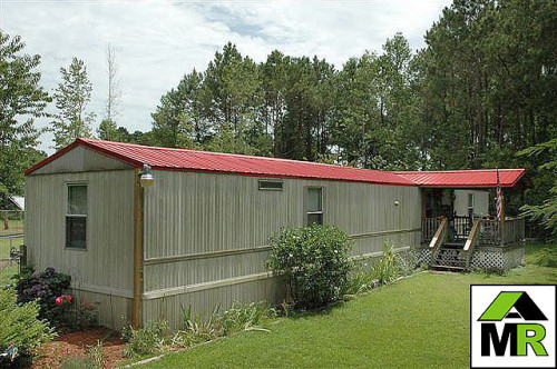 Mobile Home Metal Roof Flickr Sharing