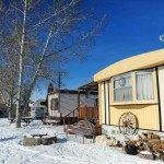 Mobile Home Park Snow Homes Trailer Villages