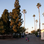 Mobile Home Parks Located Along Between San Diego And The