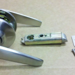Mobile Home Satin Nickel Lever Passage Door Knob Shipping And Delivery