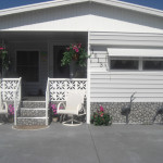 Mobile Home Skirting Brick Rock And Stone Panel Options