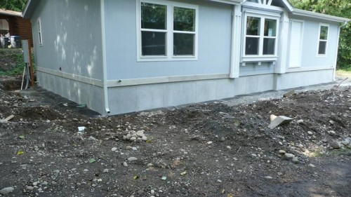Mobile Home Skirting The Same House Foundation Business