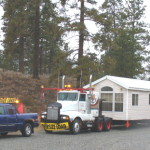 Mobile Home Transport Preperation Construction