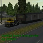 Mobile Home Transporter Wos Trucks Gamemoding